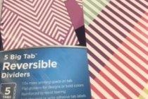 Dividers - Line Up - 5 Big Tab Reversible