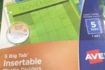 Dividers - Plastic 5 Big Tab
