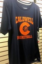 T-shirt - S/S - CCC&TI Athletics Logo Collection Basketball - Dri-Power Odor Protection, & UPF 30 - Small