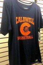 T-shirt - S/S - CCC&TI Athletics Logo Collection Basketball - Dri-Power Odor Protection, & UPF 30 - XL