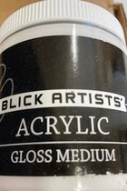 Acrylic - Gloss Medium - 8 oz