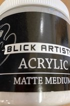 Acrylic - Matte Medium - 8 oz