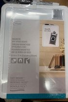 Chalk Board Magnetic -White - Board Dudes - 8x11