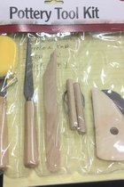 Pottery Tool Kit, 9pc set