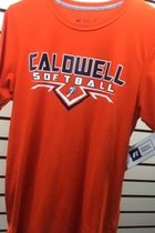 T-shirt - S/S - CCC&TI Athletics Logo Collection Softball - Dri- Power, Odor Protection, & UPF 30 - 2X