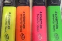 Hiliter Textsurfer - 4PK - Pink, Yellow, Orange & Green