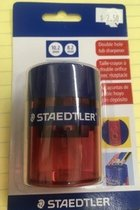 Sharpener - Pencil - Double Hole - Assorted Colors - Carded