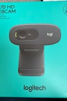WebCam - Logitech C270 HD 720P Video Calls - Built in Noise Reducing Mic - For Windows 10 or later Macs 10.10 or later