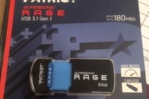 USB 64GB Supersonic RAGE 3.1 Gen 1 Extreme Performance Read up to 180mb/s